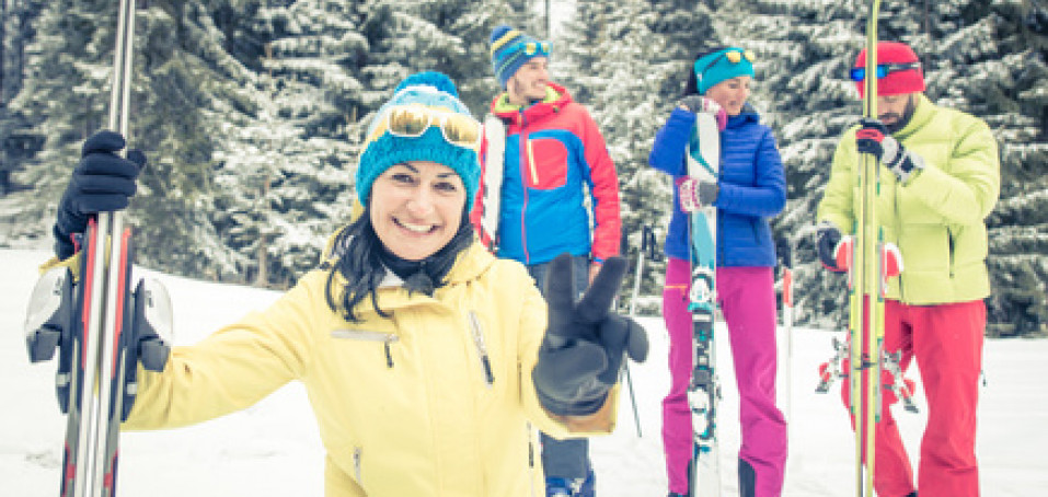 Roztroušená skleróza a lyžování na horách? Ano, je to možné!