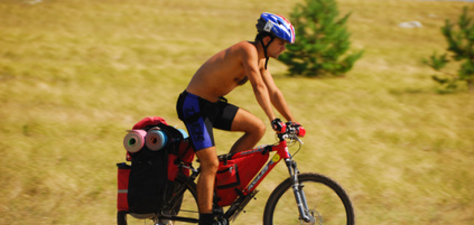 Mohu při eresce usednout na kolo?