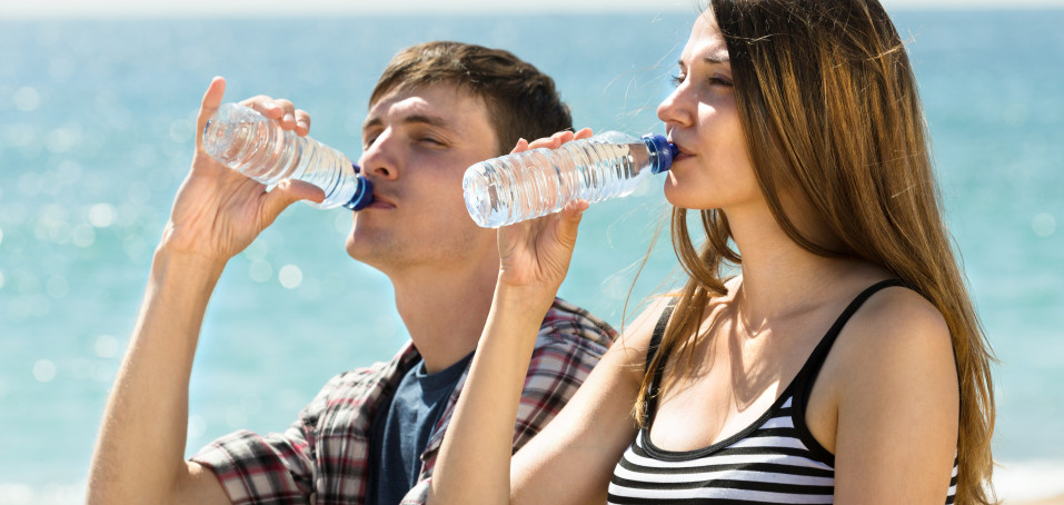 Dodržujete pitný režim? Hydratace je důležitá i při eresce!